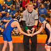 2012 - 1- 7 -  IESA Wrestling - Olympia Invitational - Olympia High School - Stanford Illinois - 72