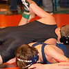 2012 - 1- 7 -  IESA Wrestling - Olympia Invitational - Olympia High School - Stanford Illinois - 127