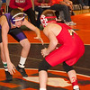 2012 - 1- 7 -  IESA Wrestling - Olympia Invitational - Olympia High School - Stanford Illinois - 120