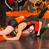 2012 - 1- 7 -  IESA Wrestling - Olympia Invitational - Olympia High School - Stanford Illinois - 125