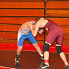 2012 - 1- 7 -  IESA Wrestling - Olympia Invitational - Olympia High School - Stanford Illinois - 115