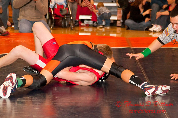 2012 - 1- 7 -  IESA Wrestling - Olympia Invitational - Olympia High School - Stanford Illinois - 217
