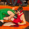 2012 - 1- 7 -  IESA Wrestling - Olympia Invitational - Olympia High School - Stanford Illinois - 137