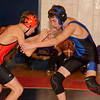 2012 - 1- 7 -  IESA Wrestling - Olympia Invitational - Olympia High School - Stanford Illinois - 821