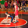2012 - 1- 7 -  IESA Wrestling - Olympia Invitational - Olympia High School - Stanford Illinois - 707