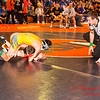 2012 - 1- 7 -  IESA Wrestling - Olympia Invitational - Olympia High School - Stanford Illinois - 65