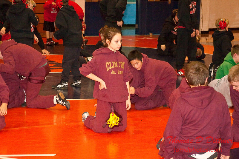 2012 - 1- 7 -  IESA Wrestling - Olympia Invitational - Olympia High School - Stanford Illinois - 18
