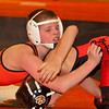 2012 - 1- 7 -  IESA Wrestling - Olympia Invitational - Olympia High School - Stanford Illinois - 126