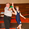 2012 - 1- 7 -  IESA Wrestling - Olympia Invitational - Olympia High School - Stanford Illinois - 114