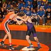 2012 - 1- 7 -  IESA Wrestling - Olympia Invitational - Olympia High School - Stanford Illinois - 58