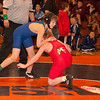 2012 - 1- 7 -  IESA Wrestling - Olympia Invitational - Olympia High School - Stanford Illinois - 108