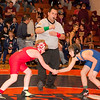 2012 - 1- 7 -  IESA Wrestling - Olympia Invitational - Olympia High School - Stanford Illinois - 107