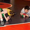 2012 - 1- 7 -  IESA Wrestling - Olympia Invitational - Olympia High School - Stanford Illinois - 57
