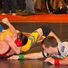 2012 - 1- 7 -  IESA Wrestling - Olympia Invitational - Olympia High School - Stanford Illinois - 205