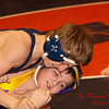 2012 - 1- 7 -  IESA Wrestling - Olympia Invitational - Olympia High School - Stanford Illinois - 195