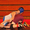 2012 - 1- 7 -  IESA Wrestling - Olympia Invitational - Olympia High School - Stanford Illinois - 117