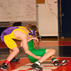 2012 - 1- 7 -  IESA Wrestling - Olympia Invitational - Olympia High School - Stanford Illinois - 155