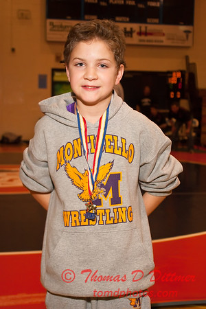 2012 - 1- 7 -  IESA Wrestling - Olympia Invitational - Olympia High School - Stanford Illinois - 1033