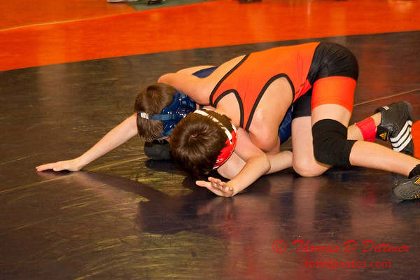 2012 - 1- 7 -  IESA Wrestling - Olympia Invitational - Olympia High School - Stanford Illinois - 406