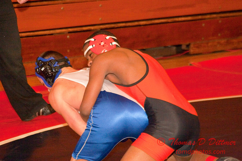 2012 - 1- 7 -  IESA Wrestling - Olympia Invitational - Olympia High School - Stanford Illinois - 928