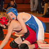 2012 - 1- 7 -  IESA Wrestling - Olympia Invitational - Olympia High School - Stanford Illinois - 90