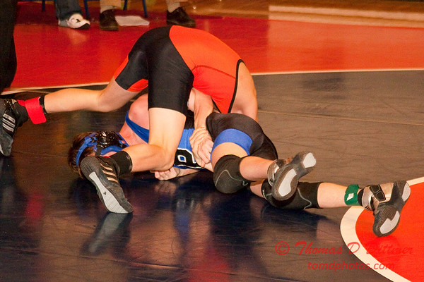 2012 - 1- 7 -  IESA Wrestling - Olympia Invitational - Olympia High School - Stanford Illinois - 829