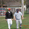 2010 - IHSA Freshmen Baseball - Normal Community High School at Pontiac High School - Pontiac Illinois - April 12th - 8