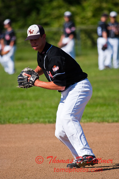 2010 - IHSA Varsity Baseball - Normal West Community High School vs Decatur Eisenhower High School - Educational Park - Decatur Illinois - Thursday May 6th - 065