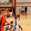 91 - Normal Community Ironmen vs Decatur Eisenhower Panthers Varsity Basketball game at Stephen Decatur Middle School