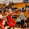 92 - Normal Community Ironmen vs Decatur Eisenhower Panthers Varsity Basketball game at Stephen Decatur Middle School
