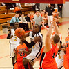 90 - Normal Community Ironmen vs Decatur Eisenhower Panthers Varsity Basketball game at Stephen Decatur Middle School