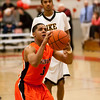 97 - Normal Community Ironmen vs Decatur Eisenhower Panthers Varsity Basketball game at Stephen Decatur Middle School