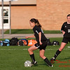 2010 - IHSA Junior Varsity Soccer - Girls - Normal Community Ironmen at Champaigh Central Maroons - Champaign Illinois - April 20th - 3
