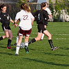 2010 - IHSA Junior Varsity Soccer - Girls - Normal Community Ironmen at Champaigh Central Maroons - Champaign Illinois - April 20th - 2