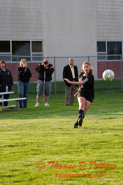2010 - IHSA Junior Varsity Soccer - Girls - Normal Community Ironmen at Champaigh Central Maroons - Champaign Illinois - April 20th - 18