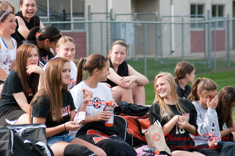 2010 - IHSA Varsity Soccer - Girls - Normal Community Ironmen at Champaigh Central Maroons - Champaign Illinois - April 20th - 8