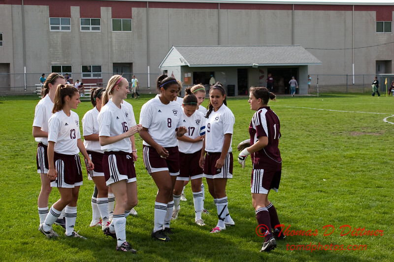 2010 - IHSA Varsity Soccer - Girls - Normal Community Ironmen at Champaigh Central Maroons - Champaign Illinois - April 20th - 35