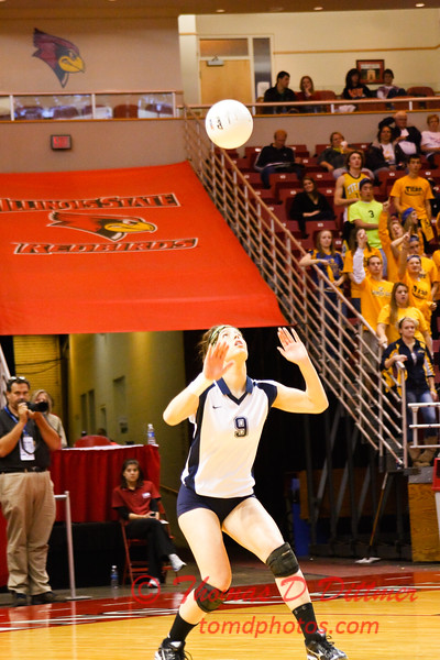 IHSA Girls Volleyball - Class 4A State Semi Finals - Cary Grove vs Glenbrook South - 96