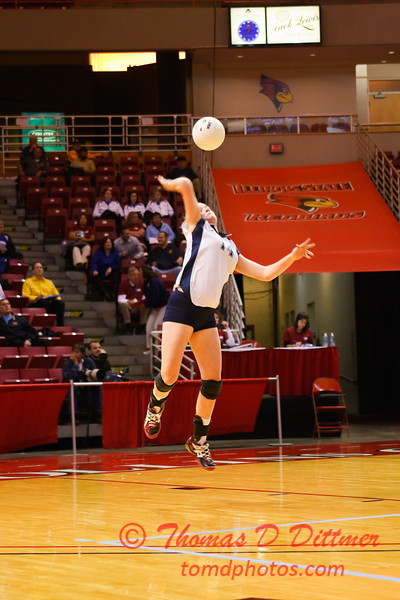 IHSA Girls Volleyball - Class 4A State Semi Finals - Cary Grove vs Glenbrook South - 53