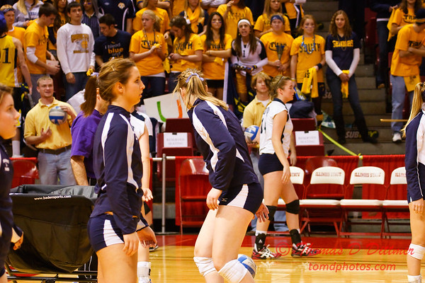 IHSA Girls Volleyball - Class 4A State Semi Finals - Cary Grove vs Glenbrook South - 1