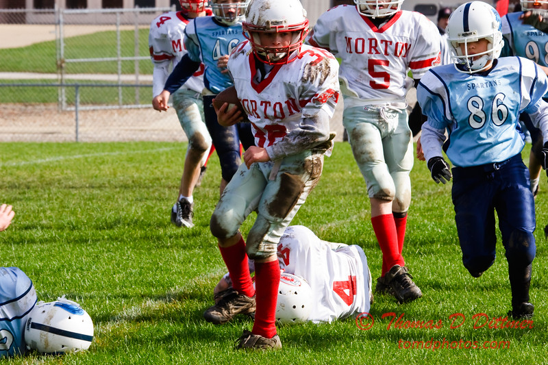 JFL - Morton Hogs at Olympia Spartans - Olympia Middle School - Stanford Illinois - 207