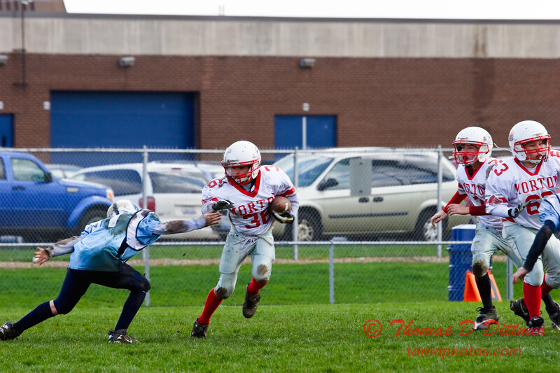 JFL - Morton Hogs at Olympia Spartans - Olympia Middle School - Stanford Illinois - 143