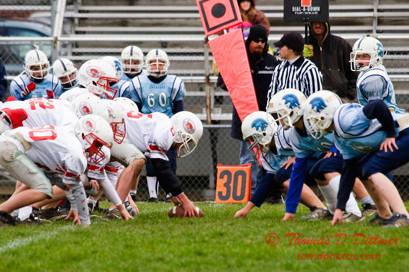 JFL - Morton Hogs at Olympia Spartans - Olympia Middle School - Stanford Illinois - 59