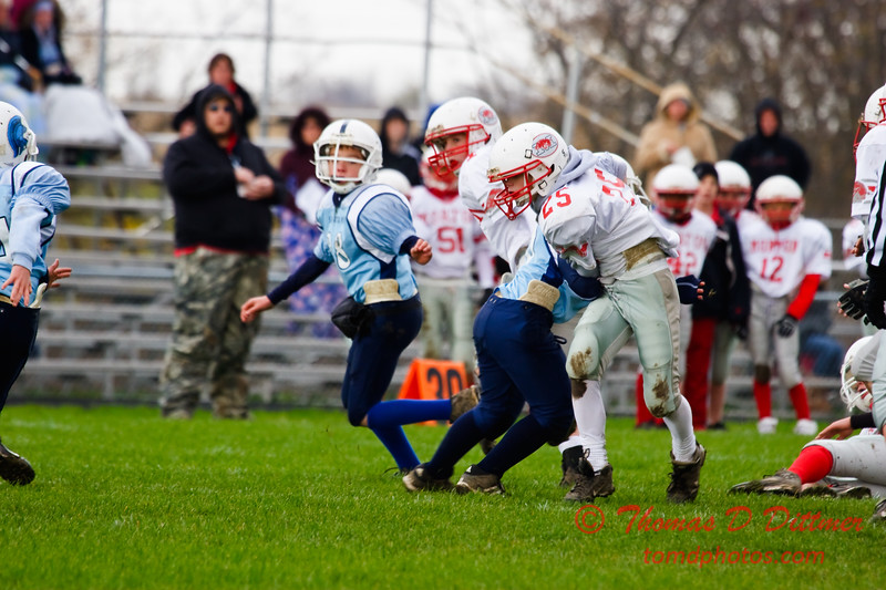 JFL - Morton Hogs at Olympia Spartans - Olympia Middle School - Stanford Illinois - 30
