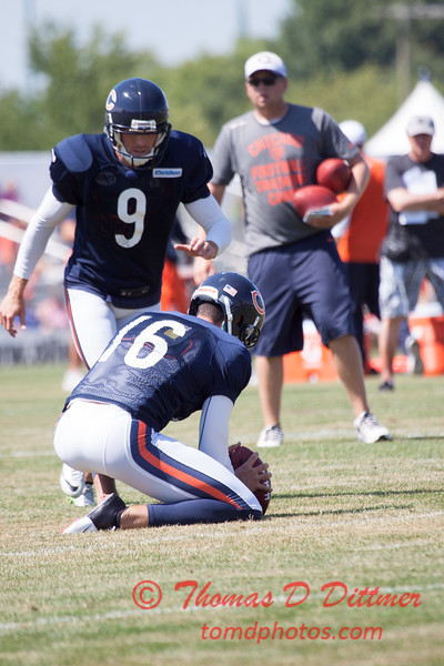 61 - 2015 Chicago Bears training camp scrimmage - Olivet-Nazarene University - Bourbonnais Illinois