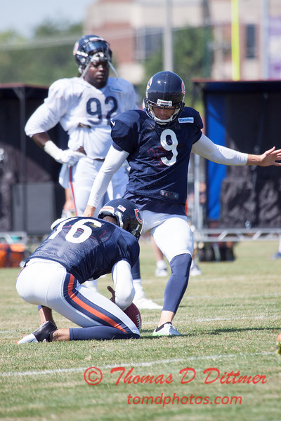 68 - 2015 Chicago Bears training camp scrimmage - Olivet-Nazarene University - Bourbonnais Illinois