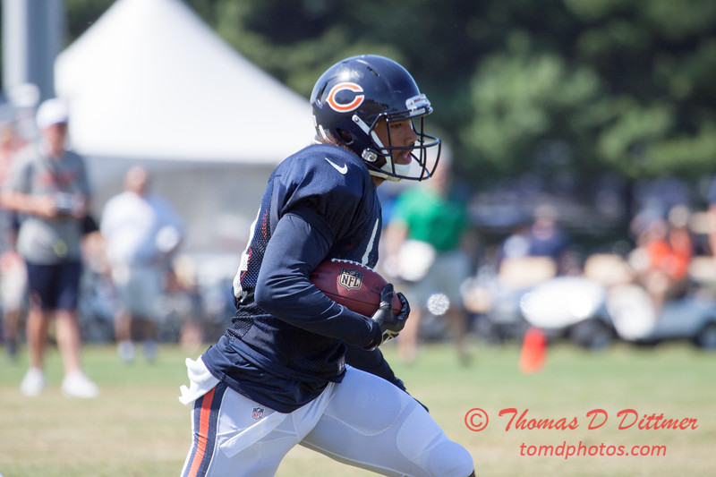 50 - 2015 Chicago Bears training camp scrimmage - Olivet-Nazarene University - Bourbonnais Illinois