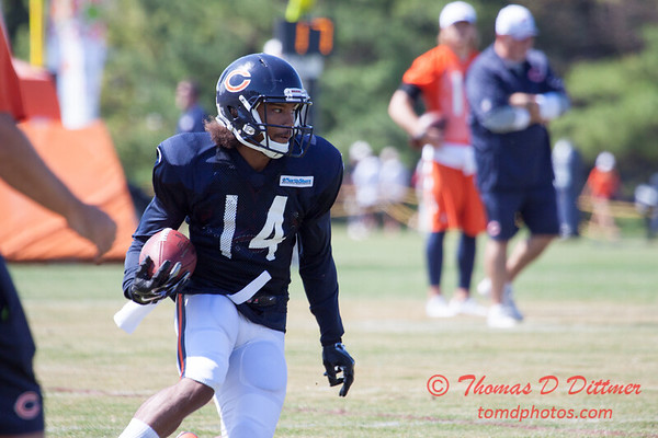 49 - 2015 Chicago Bears training camp scrimmage - Olivet-Nazarene University - Bourbonnais Illinois