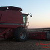2010 - Combine harvesting soybeans at sunset - 42
