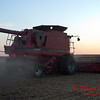 2010 - Combine harvesting soybeans at sunset - 44